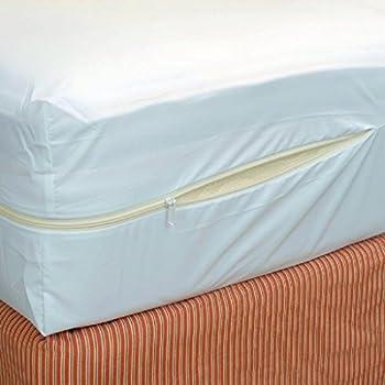 "Rajlinen Luxury Poly Cotton Waterproof Mattress Protector (+15 Inch) Deep Pocket (RV King 15"" Deep)"