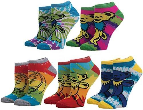 Grateful Dead Tie Dye Sock