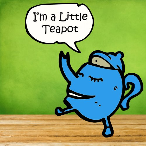 I'm a Little Teapot: 30 Kids Dance Songs for Tumbling Toddlers