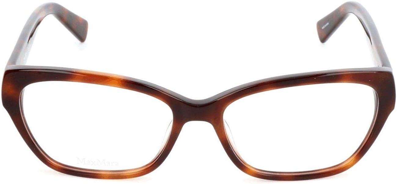 MAX MARA Brillengestelle MM 1213 Rechteckig Brillengestelle 52 Braun