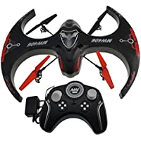 Aerodrone 2.4 GHz 4 Channel Mega RC Quadcopter, Black