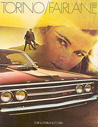 Ford Brochure - 1969 Ford Sales Brochure Torino Fairlane Cobra