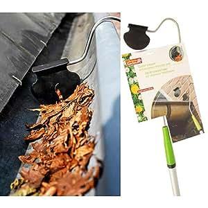 MQ-Power - Limpiador de tejados y canalones telescópico