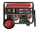 Milbank Portable Generator with Electric Start, 7500W