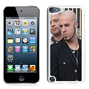 Beautiful Designed Cover Case With Daughtry Tattoo Bald Beard Chain (2) For iPod Touch 5 Phone Case