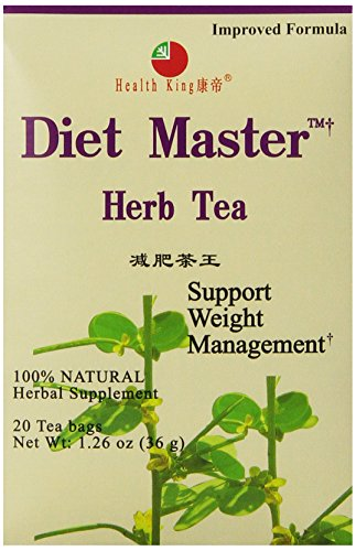 Tea Herb Master Diet (Health King  Diet Master Herb Tea, Teabags, 20 Count Box)