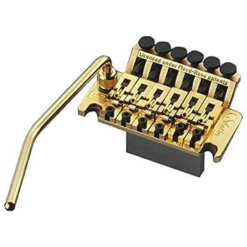Amazon.com: PUENTE GUITARRA ELECTRICA - Schaller (371) Puente Floyd Rose (Tremolo) Dorado: Musical Instruments