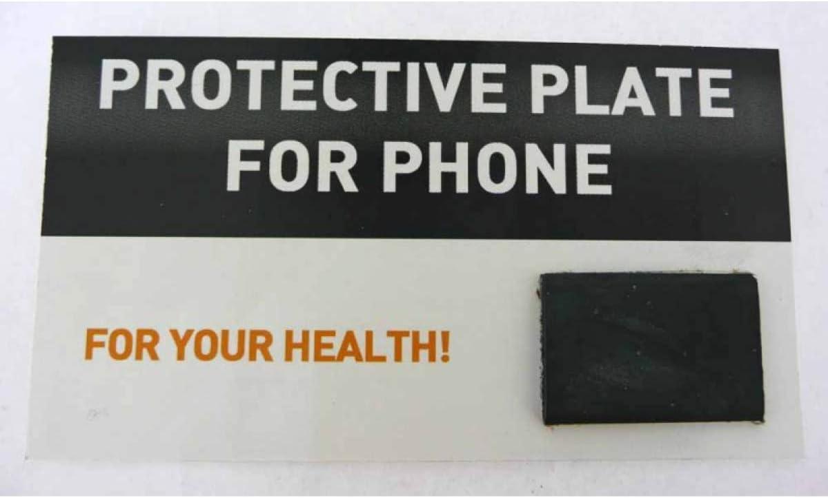Placa Adhesiva Mineral Shungit, Shungite, Shungita, Rectangular, protección, Natural, para teléfonos móviles, color Negro