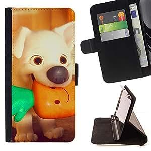 Momo Phone Case / Flip Funda de Cuero Case Cover - Vignette Végétarienne - Samsung ALPHA G850