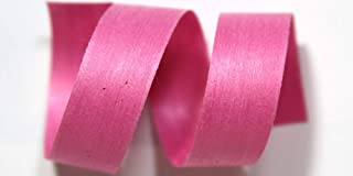"product image for 100% Biodegradable Natural Ribbon | 33 Solid Colors | Ribbon for Crafts | Cotton Curling Ribbon | Holiday Ribbon | Wrapping Ribbon | Eco-Friendly Ribbon (Bubblegum, 1/2"" x 50 Yards)"