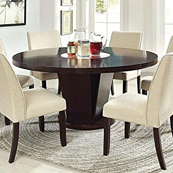 Amazon.com: furniture of america vessice 7 piezas redondo ...