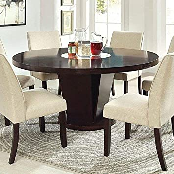 Amazon Com 247shopathome Idf 3556t 7pc Dining Room Set 7 Piece