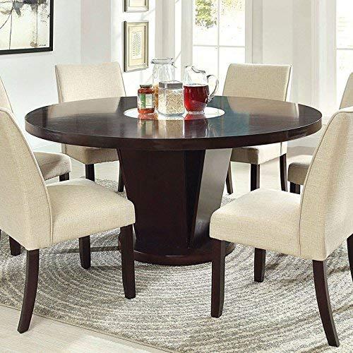 247SHOPATHOME Dining room set, 7-Piece, Espresso