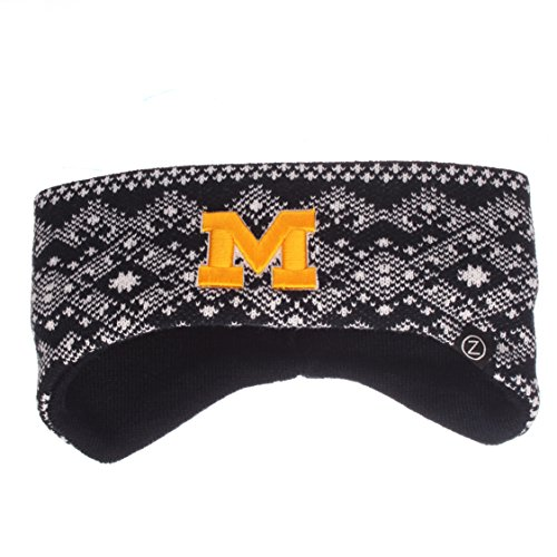 Adult Knit Headband - NCAA Michigan Wolverines Adult Women Frost Bite Knit Headband, Adjustable, Team Color