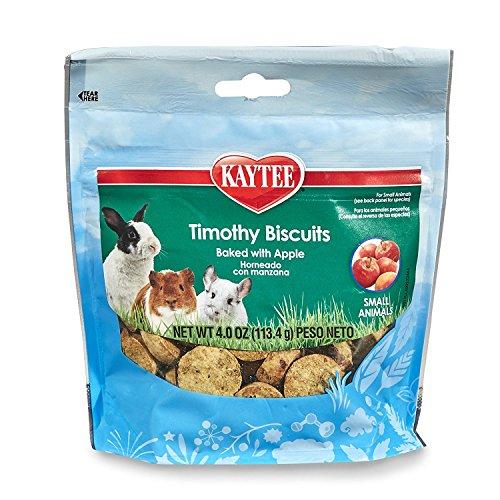 Kaytee Timothy Biscuits Baked Apple Treat, 4oz bag (Standard Retail (Biscuit Health Treat)