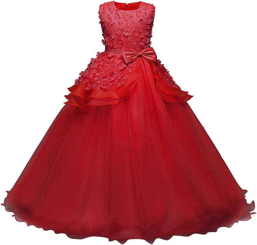 Lurryly Toddler Baby Girls Dress Print Dress Ruffle Skirt Summer Princess Dot Dress Clothing