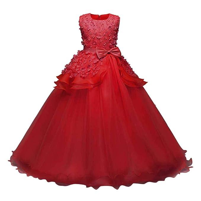 Hawkimin_Babybekleidung Hawkimin Mädchen Prinzessin Kleid