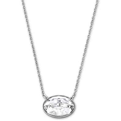 8eb5d1105 Swarovski 5008655 Vanilla Crystal Necklace: Amazon.co.uk: Jewellery