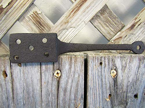 Big Sky Antiques Cast Iron Gate Pull Handle 6'' Rustic Brown by Big Sky Antiques (Image #4)