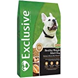 PMI Nutrition Exclusive Healthy Weight Adult Dog Food Chicken & Brown Rice Recipe, 15 Pound Bag