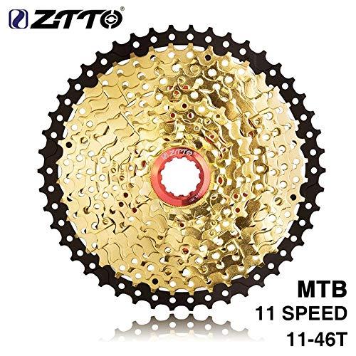 Barbiee ZTTO 11-Fach Kassette 11-46T Kompatibles Rennrad Shimano Sram System Hochfeste Stahlkettenräder Faltendes Silbergetriebe