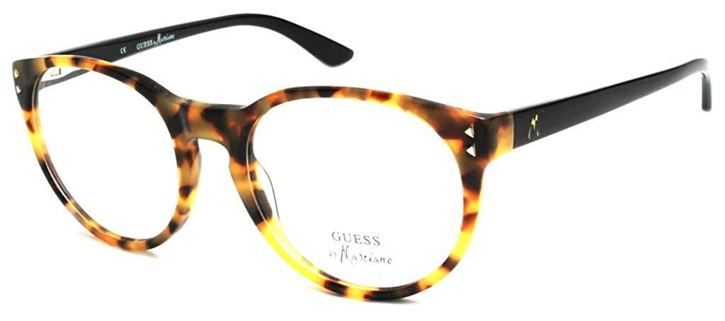 ea107b8ebf Guess by Marciano Women s Designer Glasses GM 127 DABLK  Amazon.co.uk   Clothing