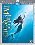 Cover Image for 'The Little Mermaid (Three-Disc Diamond Edition) (Blu-ray 3D / Blu-ray / DVD + Digital Copy + Music)'