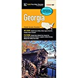 Georgia State Waterproof Fold Map
