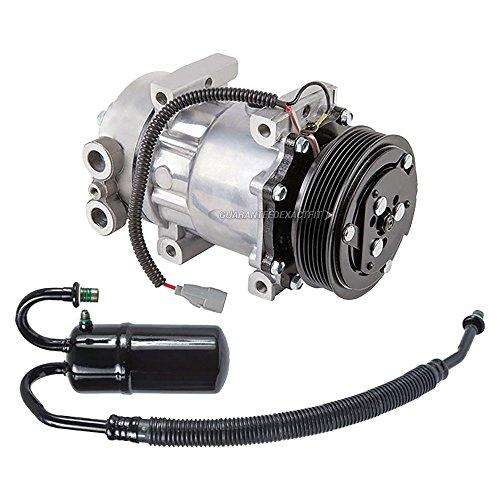 AC Compressor w/A/C Drier For Dodge Dakota 2.5L 1996 - BuyAutoParts 60-88655R2 New