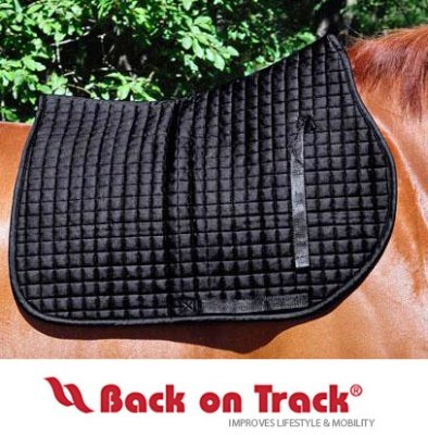 Back on Track All Purpose Saddle Pad Black (Back Pad Saddle)