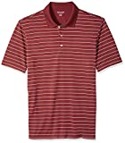 Amazon Essentials Men's Regular-Fit Quick-Dry Golf Polo Shirt, Port Stripe, X-Small