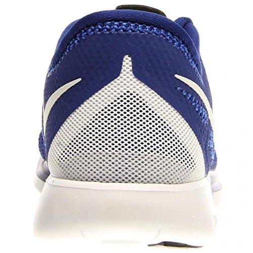 Nike Free 5.0 Herren-Laufschuhe, blau - Blu (Blau/Neonrot) - Größe: 46.5