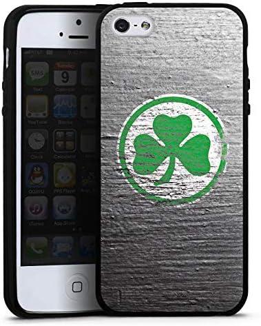 DeinDesign Silikon H/ülle kompatibel mit Apple iPhone 5 Case Schutzh/ülle Klee SpVgg Greuther F/ürth Beton