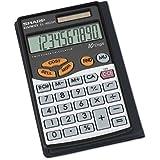 Sharp Calculators EL-480SRB 10-Digit Twin Powered Basic Handheld Calculator