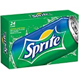 Sprite Lemon Lime Soda Soft Drinks, 12 fl oz, 24 Pack
