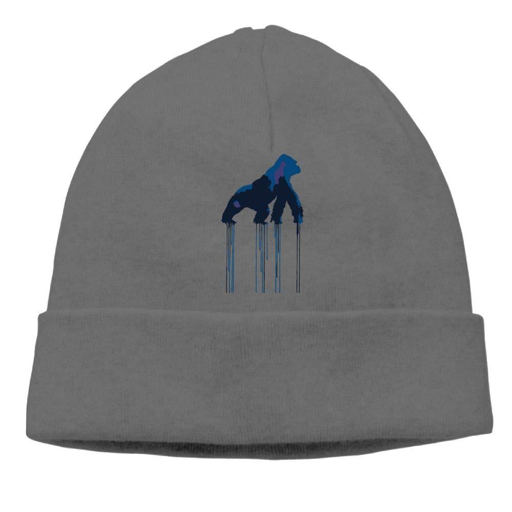 Interesting Gorilla Beanies Hat Skull Caps Unisex