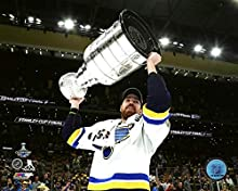 "Zach Sanford St. Louis Blues 2019 NHL Stanley Cup Trophy Photo (Size: 8"" x 10"")"