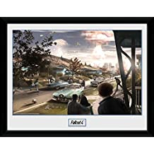 Fallout Framed Collector Poster - 4, Sanctuary Hills Panic (16 x 12 inches)