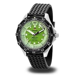 Kronsegler MKS806 Aqua-Mat2 - Reloj de buceo automático, color negro y verde