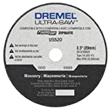 Dremel US520-01 Ultra-Saw 3.5-Inch Masonry Cutting Wheel