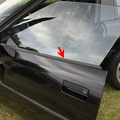 C4 Corvette Lower Outer Window Door Panel Seal Kit Includes Both Sides Fits: All 84 through 96 Corvettes