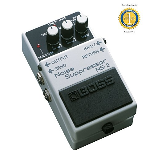 Boss Ns2 Noise Suppressor (Boss NS-2 Noise Suppressor Guitar Pedal with 1 Year Free Extended Warranty)