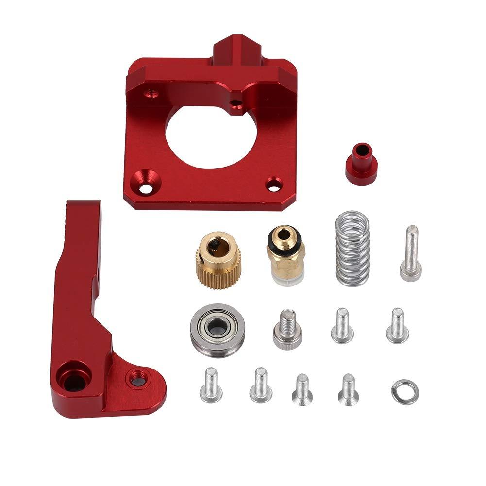 Garsent Kit de Bricolage de Bloc en Aluminium d'Extrudeuse de l'Imprimante 3D pour Les Imprimantes 3D d'Extrusion de 1.75mm Partie CR-10 CR-10s.