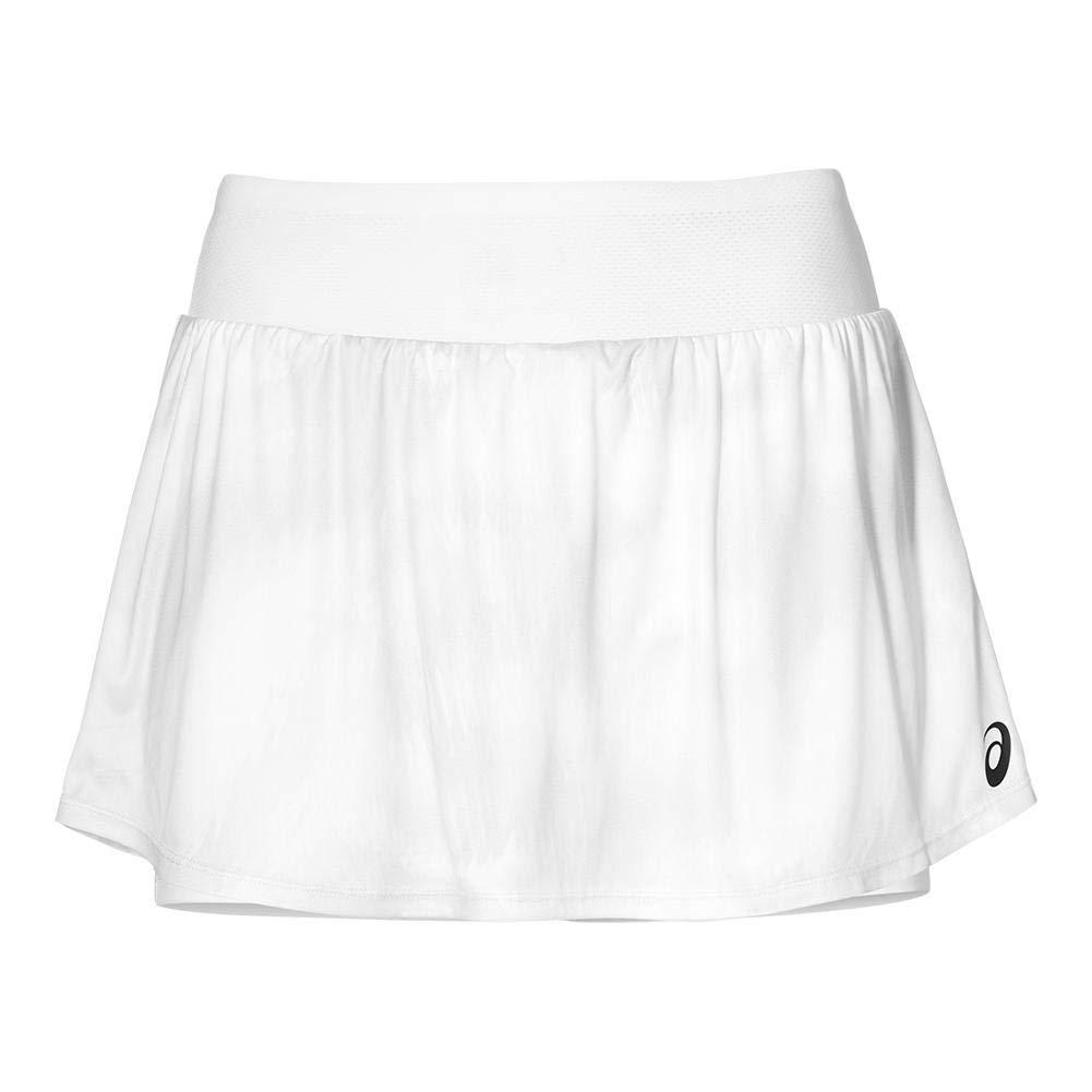 ASICS-Women`s Club Graphic Tennis Skort-(191497680834) Brilliant White