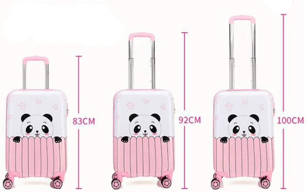 Multi-Color Trolley case 18//19//20 Universal Wheel Luggage Size : 19, Style : O Cartoon Travel Trolley case Runtongshanghang Trolley case