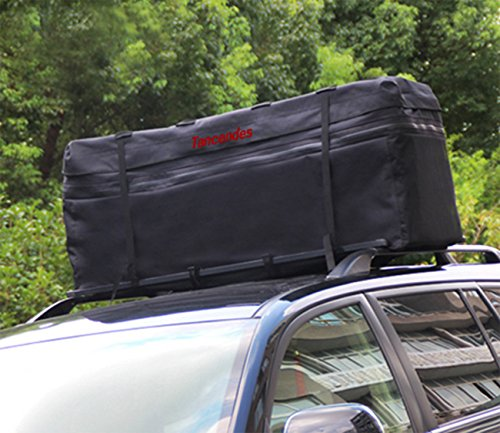 Tancendes 600d Oxford Waterproof Car Top Carrier Car Roof