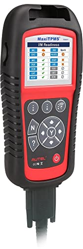 Autel TS601 doubles as a primary OBDII code reader as well