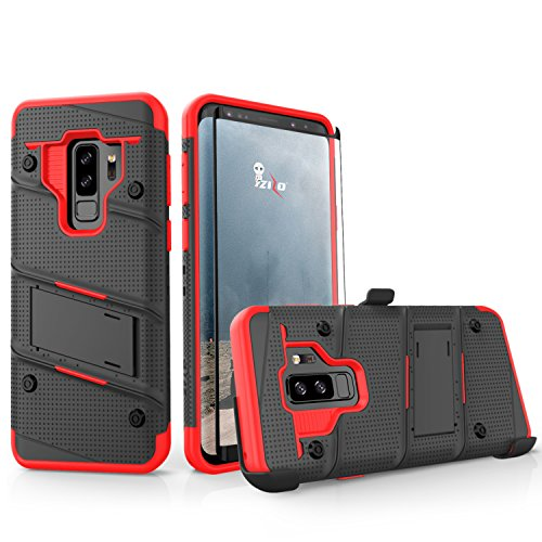 ZIZO Bolt Series Samsung Galaxy S9 Plus Case Military Grade Drop Tested with Tempered Glass Screen P - http://coolthings.us