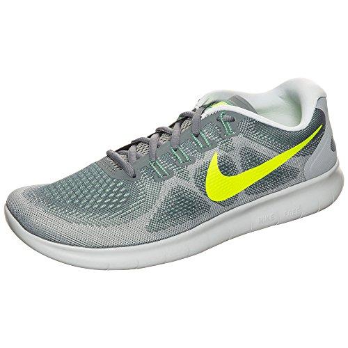 Nike Free 2017 m Lime Scarpe RN Uomo Running Grey da ppqrRdw