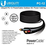 Ubiquiti PowerCable PC-12 Carrier-Grade Outdoor Electrical Cable 1000ft
